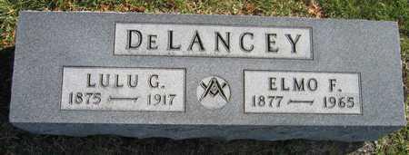 DELANCEY, ELMO F. - Linn County, Iowa | ELMO F. DELANCEY