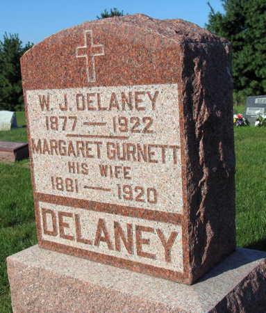 GURNETT DELANEY, MARGARET - Linn County, Iowa | MARGARET GURNETT DELANEY