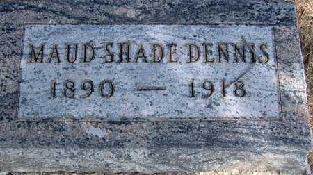 SHADE DENNIS, MAUD - Linn County, Iowa | MAUD SHADE DENNIS