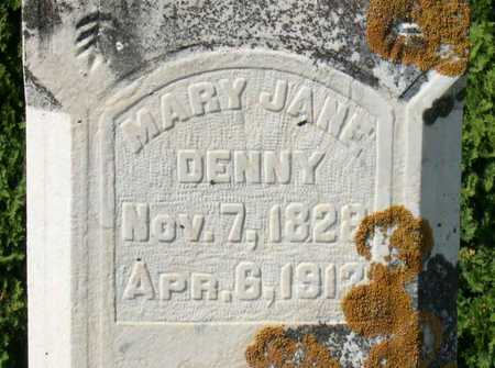 DENNY, MARY JANE - Linn County, Iowa | MARY JANE DENNY