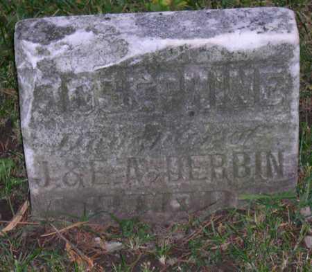 DERBIN, JOSEPHINE - Linn County, Iowa | JOSEPHINE DERBIN