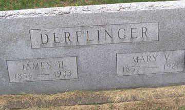 DERFLINGER, MARY V. - Linn County, Iowa | MARY V. DERFLINGER