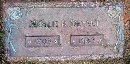 DETERT, MOLLIE R. - Linn County, Iowa | MOLLIE R. DETERT