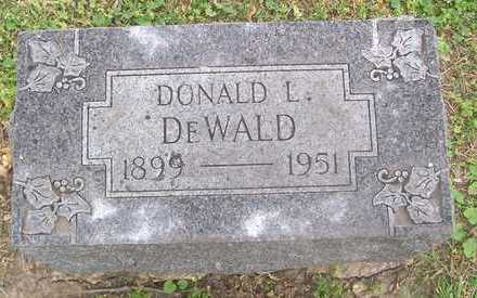 DEWALD, DONALD L. - Linn County, Iowa | DONALD L. DEWALD