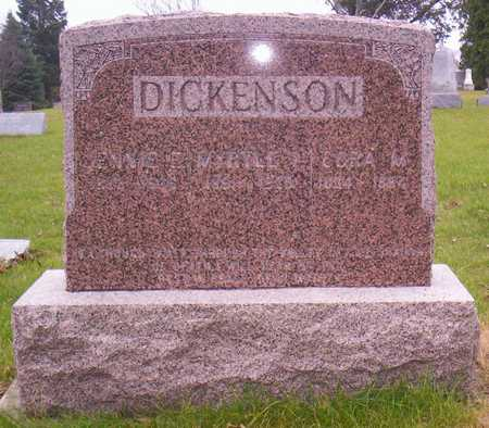 DICKENSON, JENNIE E. - Linn County, Iowa | JENNIE E. DICKENSON