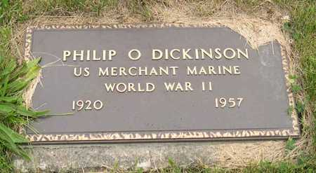 DICKINSON, PHILIP O. - Linn County, Iowa | PHILIP O. DICKINSON