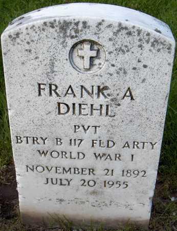 DIEHL, FRANK A. - Linn County, Iowa | FRANK A. DIEHL