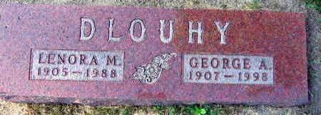 DLOUHY, GEORGE A. - Linn County, Iowa | GEORGE A. DLOUHY