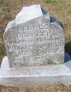 DOBRECH, GEORGE - Linn County, Iowa | GEORGE DOBRECH