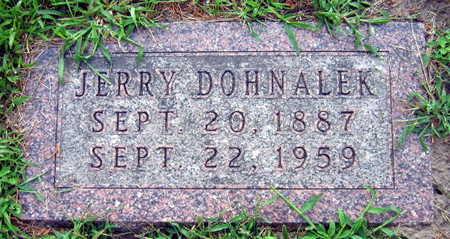 DOHNALEK, JERRY - Linn County, Iowa   JERRY DOHNALEK