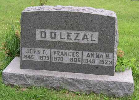 DOLEZAL, FRANCES - Linn County, Iowa | FRANCES DOLEZAL
