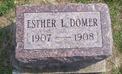 DOMER, ESTHER L. - Linn County, Iowa | ESTHER L. DOMER