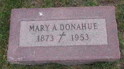 DONAHUE, MARY A. - Linn County, Iowa | MARY A. DONAHUE