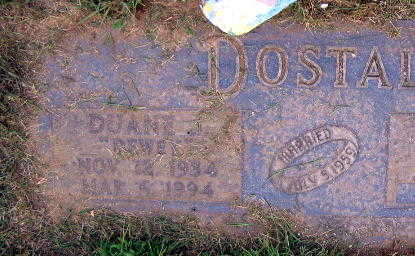 DOSTAL, DUANE J. - Linn County, Iowa | DUANE J. DOSTAL