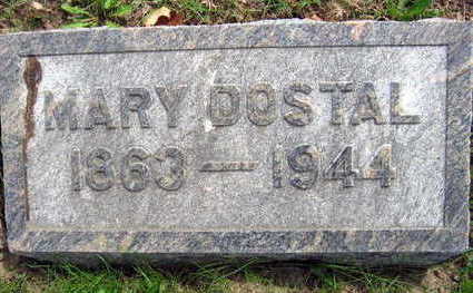 DOSTAL, MARY - Linn County, Iowa | MARY DOSTAL