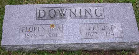 DOWNING, FRED F. - Linn County, Iowa | FRED F. DOWNING