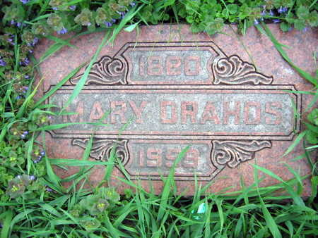 DRAHOS, MARY - Linn County, Iowa | MARY DRAHOS