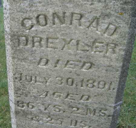 DREXLER, CONRAD - Linn County, Iowa | CONRAD DREXLER