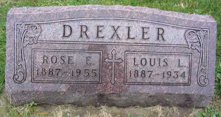 DREXLER, ROSE E. - Linn County, Iowa | ROSE E. DREXLER
