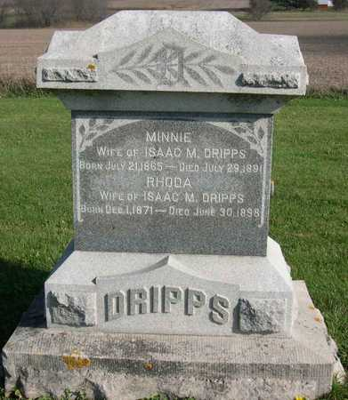 DRIPPS, MINNIE - Linn County, Iowa | MINNIE DRIPPS
