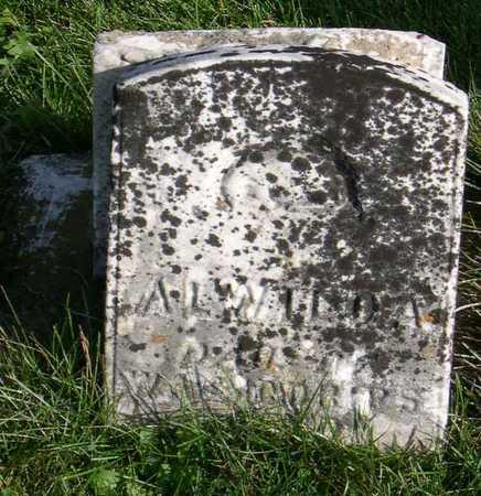 DRIPS, ALWILDA(?) - Linn County, Iowa | ALWILDA(?) DRIPS