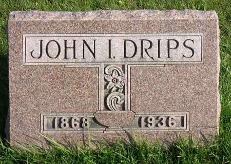 DRIPS, JOHN I. - Linn County, Iowa | JOHN I. DRIPS