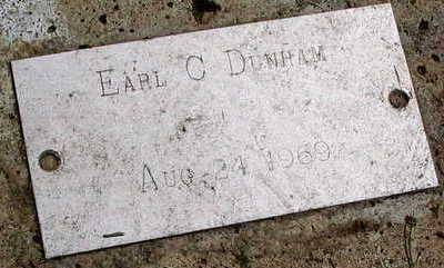 DUNHAM, EARL C. - Linn County, Iowa | EARL C. DUNHAM