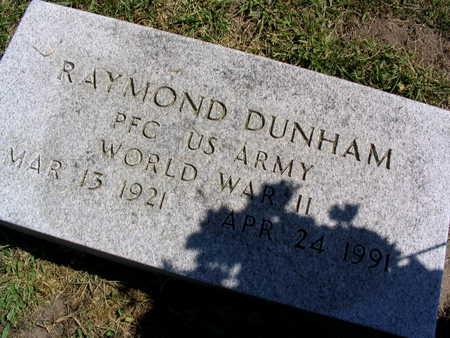 DUNHAM, RAYMOND - Linn County, Iowa | RAYMOND DUNHAM