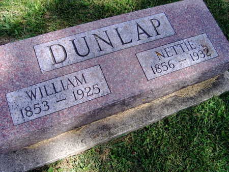 DUNLAP,  WILLIAM - Linn County, Iowa |  WILLIAM DUNLAP