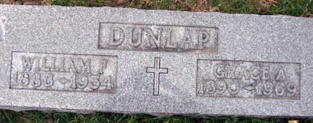 DUNLAP, WILLIAM F. - Linn County, Iowa | WILLIAM F. DUNLAP