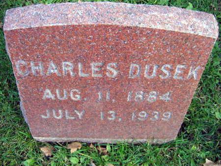 DUSEK, CHARLES - Linn County, Iowa | CHARLES DUSEK