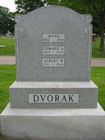 DVORAK, ALBERT E. - Linn County, Iowa | ALBERT E. DVORAK