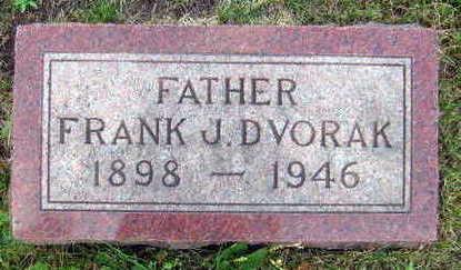 DVORAK, FRANK J. - Linn County, Iowa | FRANK J. DVORAK