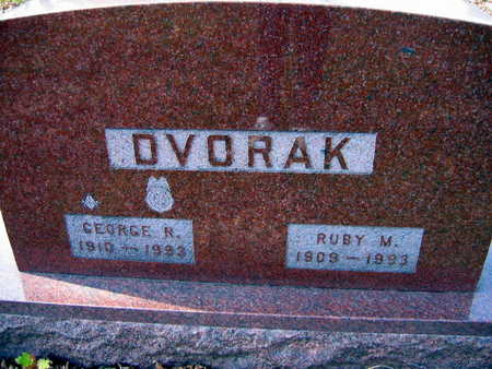 DVORAK, RUBY M. - Linn County, Iowa | RUBY M. DVORAK