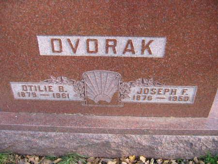 DVORAK, OTILIE B. - Linn County, Iowa | OTILIE B. DVORAK