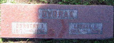 DVORAK, DOROTHY L. - Linn County, Iowa | DOROTHY L. DVORAK
