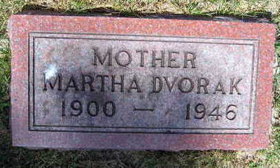DVORAK, MARTHA - Linn County, Iowa | MARTHA DVORAK