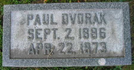 DVORAK, PAUL - Linn County, Iowa | PAUL DVORAK