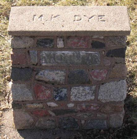 DYE, M. K. - Linn County, Iowa | M. K. DYE