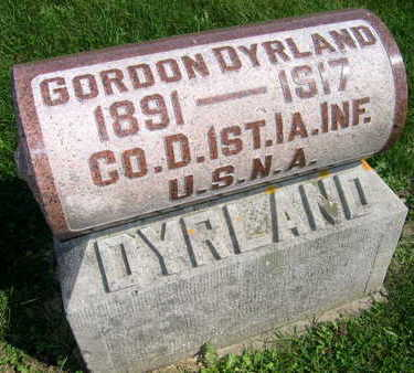 DYRLAND, GORDON - Linn County, Iowa | GORDON DYRLAND