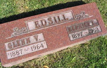 EDSILL, BERNICE L. - Linn County, Iowa | BERNICE L. EDSILL