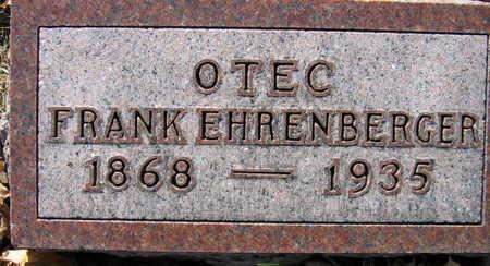 EHRENBERGER, FRANK - Linn County, Iowa | FRANK EHRENBERGER