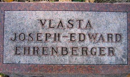 EHRENBERGER, JOSEPH EDWARD - Linn County, Iowa | JOSEPH EDWARD EHRENBERGER