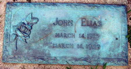 ELIAS, JOHN - Linn County, Iowa | JOHN ELIAS