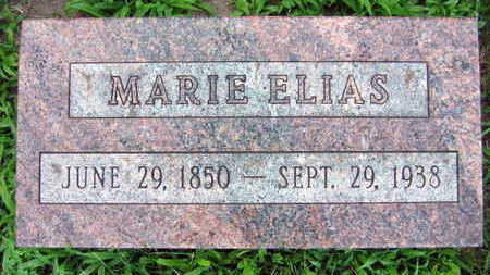 ELIAS, MARIE - Linn County, Iowa | MARIE ELIAS