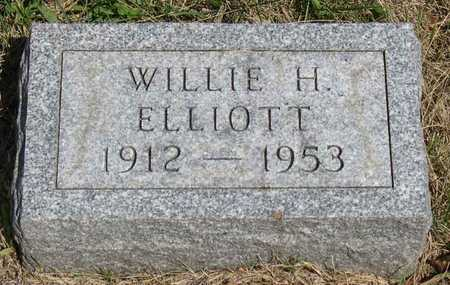 ELLIOTT, WILLIE H. - Linn County, Iowa | WILLIE H. ELLIOTT