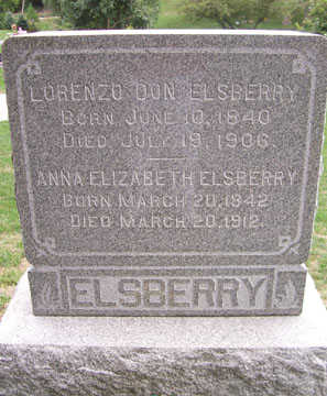 ELSBERRY, LORENZO DO - Linn County, Iowa | LORENZO DO ELSBERRY