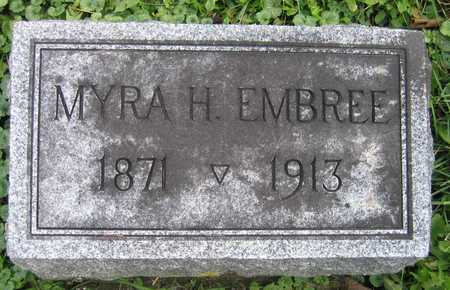 EMBREE, MYRA H. - Linn County, Iowa | MYRA H. EMBREE