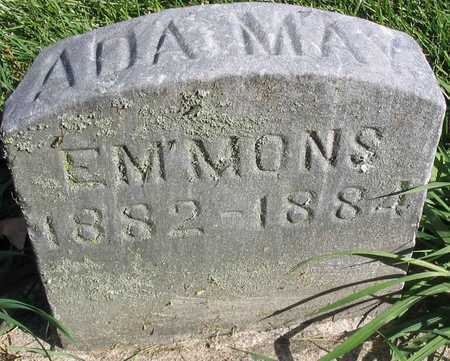 EMMONS, ADA MAY - Linn County, Iowa   ADA MAY EMMONS