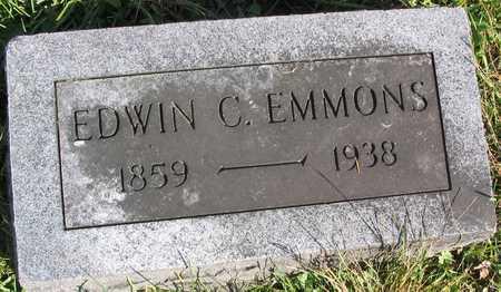 EMMONS, EDWIN C. - Linn County, Iowa | EDWIN C. EMMONS